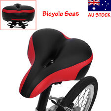 Big Bum Bike Bicycle Comfort Sporty Soft Thicken Saddle Seat Shock Absorb AU