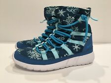 KIDS NIKE ROSHE ONE HI PRINT Boots shoes  (807744 400) Size: 6 (25CM)