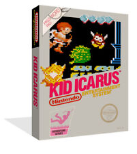 Kid Ikarus NES Replacement Game Case Box + Cover Art Work (No Game)