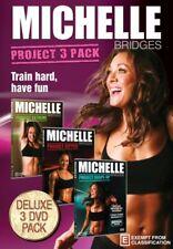 MICHELLE BRIDGES: PROJECT 3 PACK ( MICHELLE BRIDGES PROJECT EXTREME / [NEW DVD]