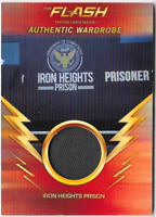 Cryptozoic Flash Season 1 Wardrobe Costume Relic Card Iron Heights Prison M10