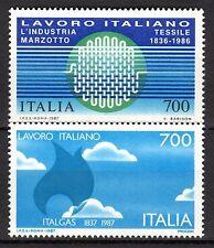 Italy - 1987 Italian technology abroad - Mi. 2003-04 MNH