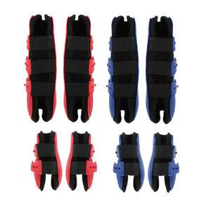 1 Paar Pferdebeinstiefel Hinter  oder Vorderbein Sehnenschutzwickel