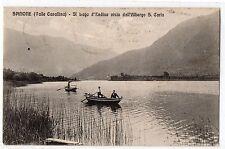 CARTOLINA 1911 SPINONE - LAGO D' ENDINE VISTO DALL' ALBERGO S. CARLO RIF. 6768