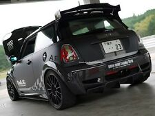 FRP FIBER GLASS DUELL AG STYLE REAR ROOF SPOILER WING FOR MINI COOPER S R56