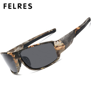 Polarized Sport Sunglasses For Men Outdoor Driving Cycling Fishing UV400 Glasses