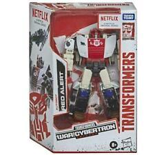 Transformers War For Cybertron Trilogy Netflix Deluxe Class RED ALERT new