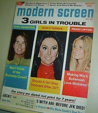 MODERN SCREEN MAGAZINE Dec 1970 JULIE ANDREWS Marlo Thomas STEVEN McQUEEN Elvis