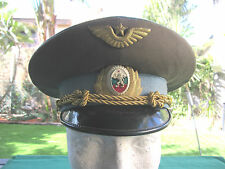 BULGARIAN ARMY - DRESS OFFICER S CAP / HAT W/ GOLDEN SIGN ! AUTH UNIQUE.AMAZING.