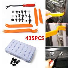 435PCS Car Body Retainer Push Pin Trim Rivet Screw Door Panel Clip Fastener Kit