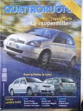 Quattroruote n°522 1999 Alfa Romeo nuove 145 156 Sport Wagon e 156 GTA  [Q202]