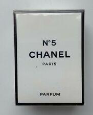 Chanel NO 5 PARFUM 7 ml 1/4 fl oz VINTAGE NEVER opened SEALED BOX