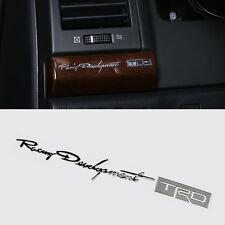 Etiqueta engomada de aleación de alta calidad TRD insignia de carreras para Toyota MR2 AURIS PRIUS YARIS