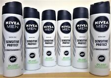 NIVEA MEN Anti-Transpirant SENSITIVE PROTECT Deo Spray  6 x150 ml (€1,99/100 ml)