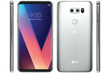 UNLOCKED T-Mobile LG V30 H932 64GB Silver 4G LTE GSM Smart 16MP Smart Cell Phone