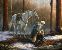 A General Before His King 8 x 10 Art Print