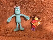 Disney Monsters Inc Boo & Sulley Monster Bathtub Sandbox PVC Figure Cake Topper