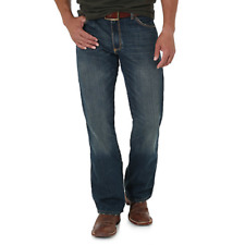 WRANGLER Retro Slim Fit Boot Cut Premium Denim Jeans 77MWZBB Men's 31x38