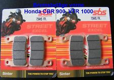 2 x SBS 734 HS Bremsbeläge Honda VTR 1000 SP-1/2, SC45, CBR 900, SC33, SC44 SC50