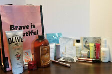 QVC Lot of 18 items-Full Size, Samples, Brave is Beautiful Bag 2020 NEW LIMITED