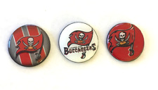 Tampa Bay Buccaneers inspired Magnets Set of 3