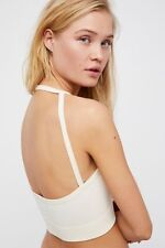 Free People Women's Intimate Straight Halter Crop Top Seamless Bralette XS-L $30