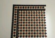 Unglazed Victorian floor tiles design  £79.00per sqm²