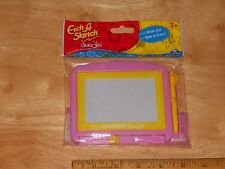 Etch A Sketch Doodle EASY To Draw JUST Slide To Erase Party Favor, Travel...PINK