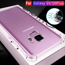 [For Samsung Galaxy S9 Plus] Clear Airbag Shockproof Bumper Hard Back Case Cover
