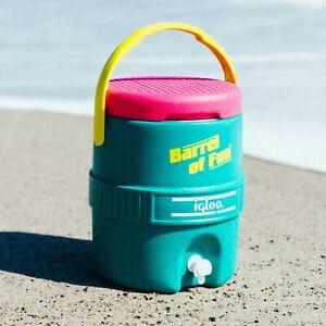 VTG Igloo Retro Barrel of Fun 2 Gallon Jug Limited Edition water VINTAGE 90's