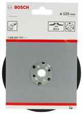 Bosch 1608601033 Plateau de ponçage 125 mm / 12200 tours par minute
