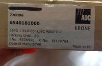 X 20 Krone Compact RJK CL LJ6C Connectivity Standard 25 x 50mm Adapter Window