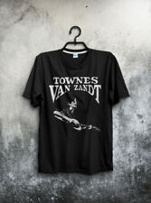 VTG Townes Van Zandt T Shirt Country Pancho and Lefty Our Mother All Sz Reprint