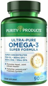 Purity Products - Ultra Pure Omega 3 Super Formula 90 Softgels