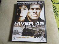 """DVD """"HIVER 42 : AU NOM DES ENFANTS"""" Haley Joel OSMENT, Willem DAFOE"""