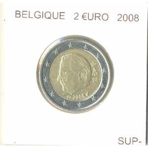 Belgique 2008 2 EURO SUP-