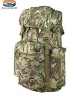 MILITARY STYLE RUCKSACK 45 LITRE PATROL DAYSACK BTP BRITISH ARMY CADET HIKING