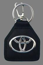 Toyota Landcruiser, Aurion, Carolla, Camry, Supra,  Logo, Real Leather Keyring