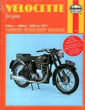 VELOCETTE Haynes Manual 350 MAC,VIPER,500 VENOM,MSS,SCRAMBLER,CLUBMAN 1953-1971