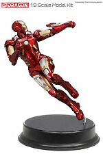 38321 Dragon Model Avengers Iron Man Mk 7 Combat Armour Suit 1:9th Scale Kit New