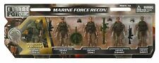 1:18 BBI Elite Force U.S Marine Force Recon Platoon Figure Soldier Set 3 3/4""