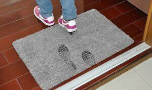 Super Absorbent Absorbs Mud & Water Microfiber Non-Slip Doormat Clean Step Pet