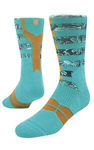 Stance Fusion Basketball Emulsion Athletic Socks Men's Sz L/XL (9-13)