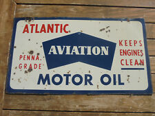 Atlantic double sided rare sign