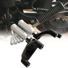 Aluminium Passenger Rear Footpeg Mount Bracket for Harley 1200XL Sportster 04-13