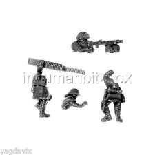 GLG06 MG42 + 2 CREWS + BASE M GERMAN GRENADIER LATE FLAMES OF WAR BITZ PSC 15mm