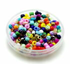 Free Shipping 1000pcs 2/3mm  Round Czech Glass Seed Spacer Beads Jewelry Making
