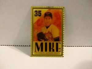 Mike Mussina Baltimore Orioles Player Stamp Lapel Pin