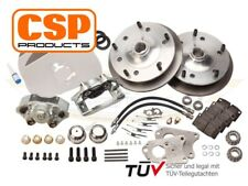 Front and rear disc CSP Disc Brake Kit for Porsche 356A 1956-59 5x205 pcd