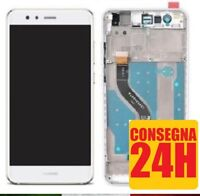 LCD DISPLAY HUAWEI P10 LITE O NOVA LITE FRAME TOUCH SCREEN WAS-LX1A BIANCO